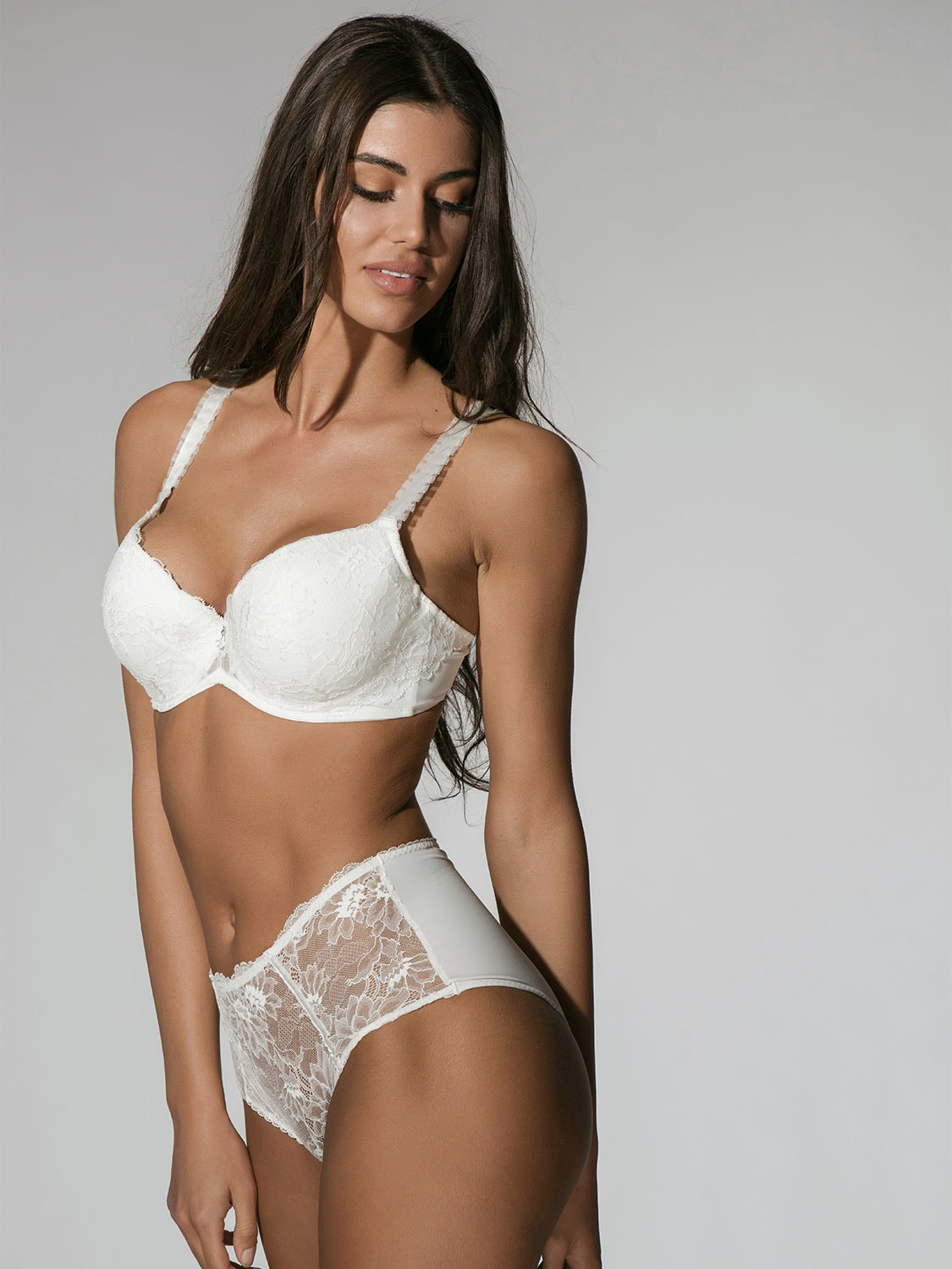 Character 13001 demi cup ivory side