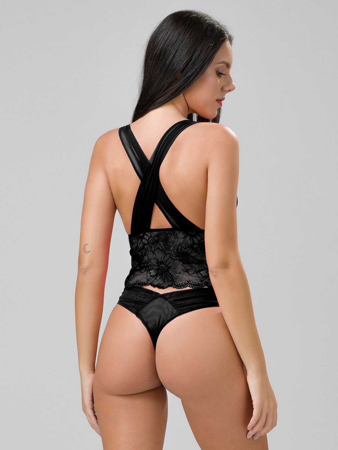 Chicago 14145 bralette & 24146 string black back (1)