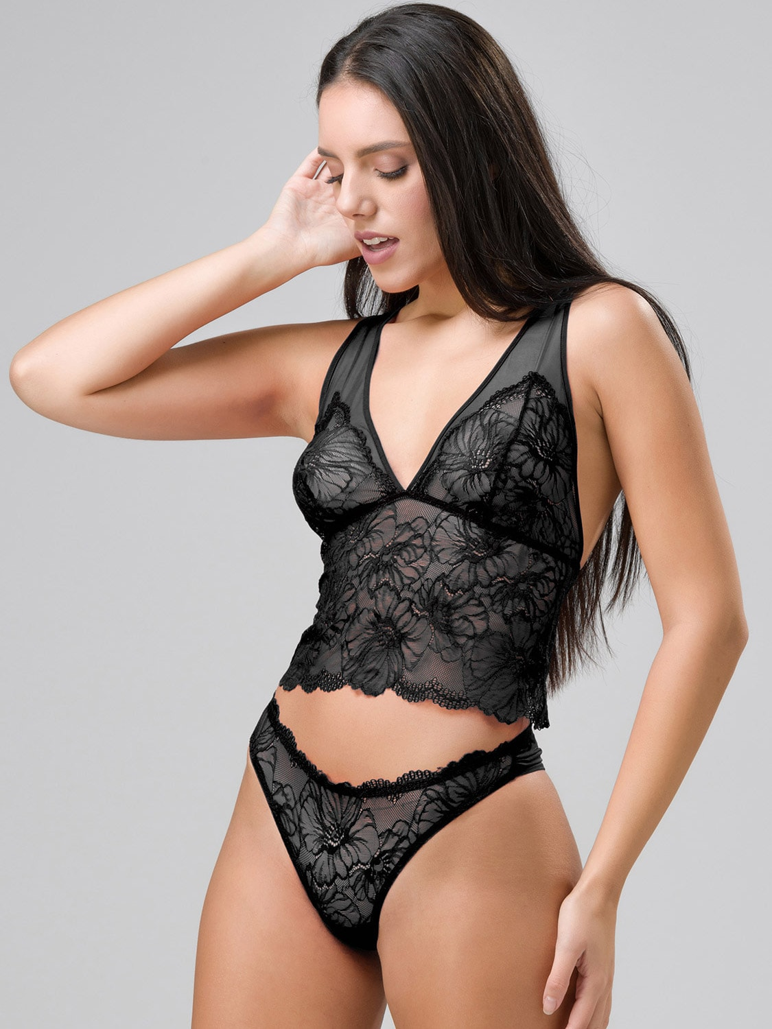 Chicago 14145 bralette & 24146 string black side (1)