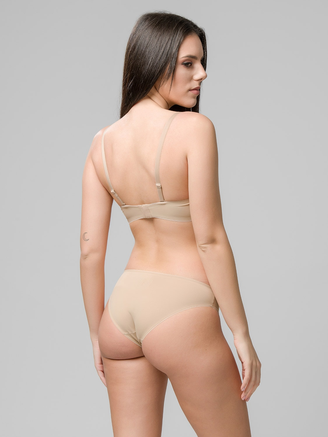 Miracle One wireless push-up 1808 & brief 2808 skin back