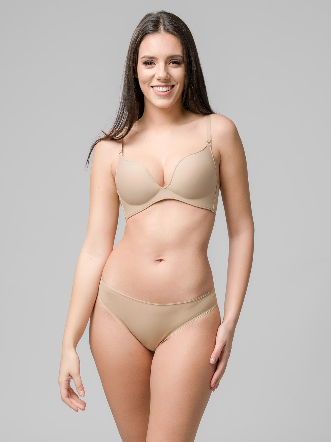 Miracle One wireless push-up 1808 & brief 2808 skin front