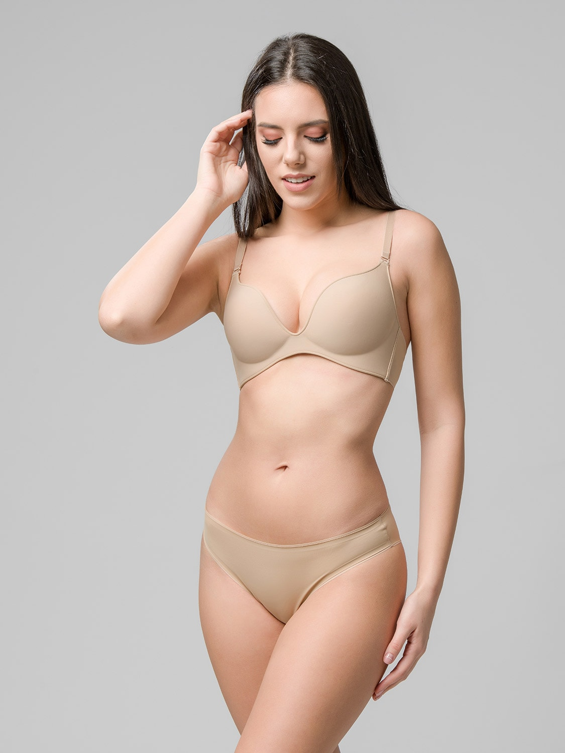 Miracle One wireless push-up 1808 & brief 2808 skin side